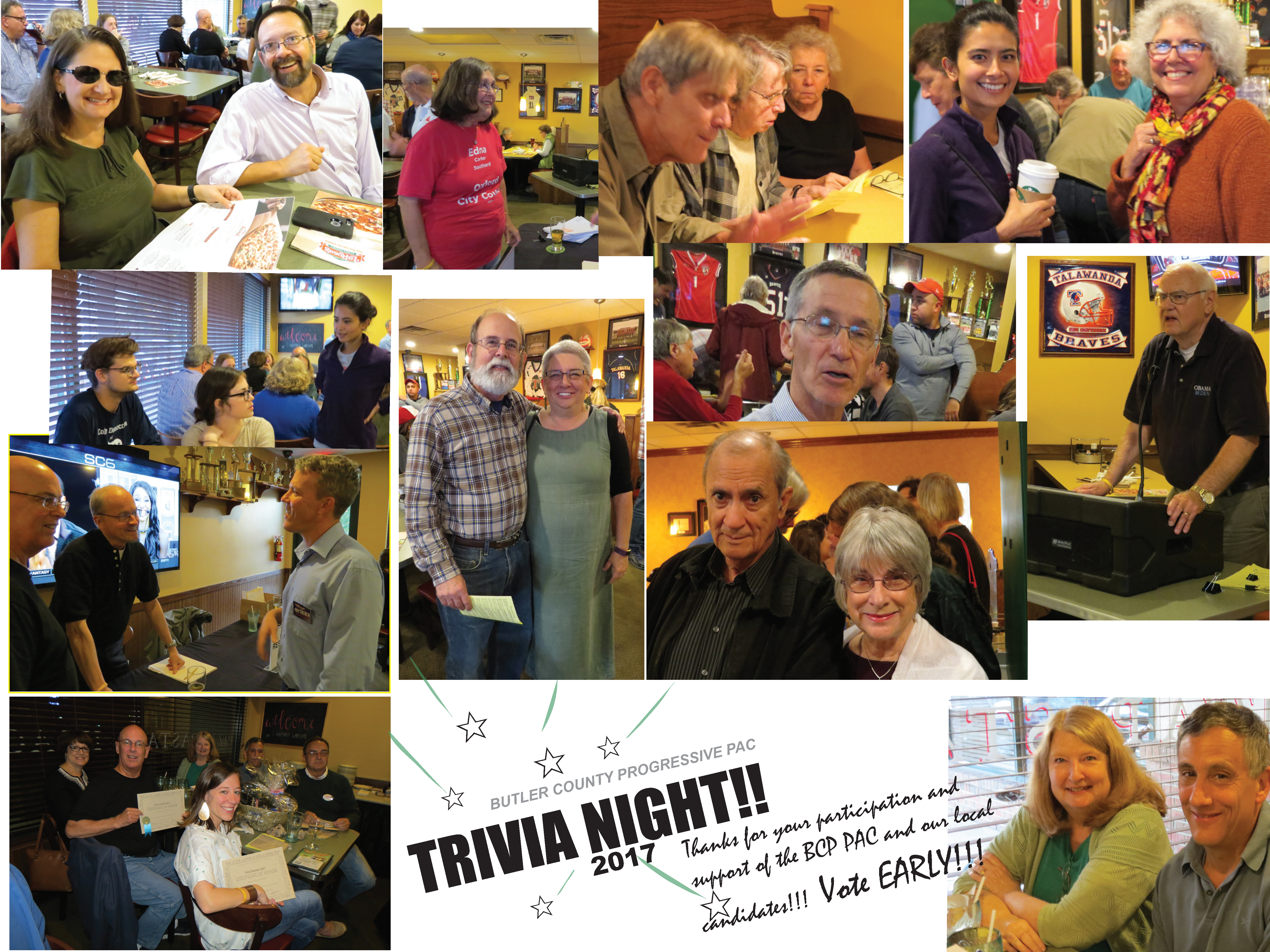 BCPPAC Annual Trivia Fundraiser for 2017 pictures