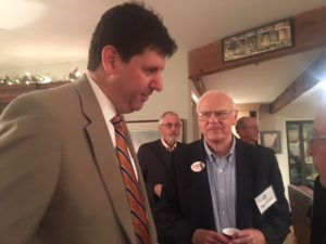 Steve Dettlebach and Don Daiker at the Fundraiser