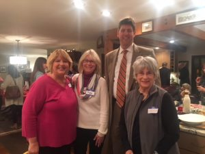 Community members with Steve Dettlebach
