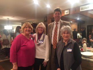 Community members with Steve Dettlebach